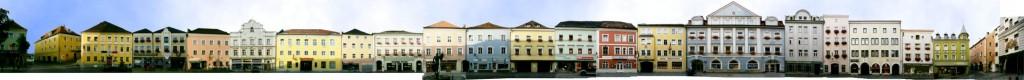 Der Stadtplatz von Vilshofen